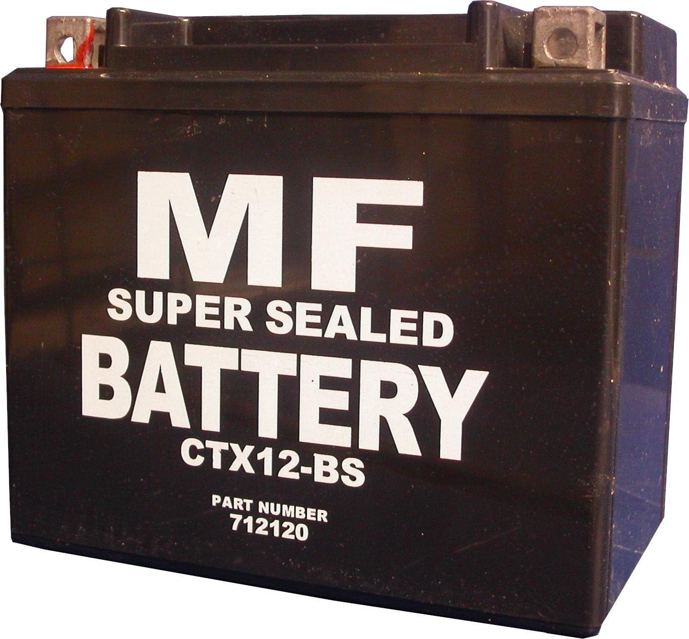 Kawasaki ZR-7S ZR750H3 CTX12-BS YTX12-BS Motorcycle battery 2003