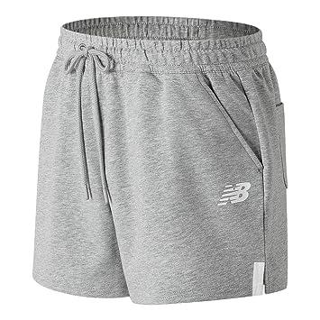 8beb89b451955 New Balance Womens Athletics Knit Shorts: Amazon.co.uk: Sports ...