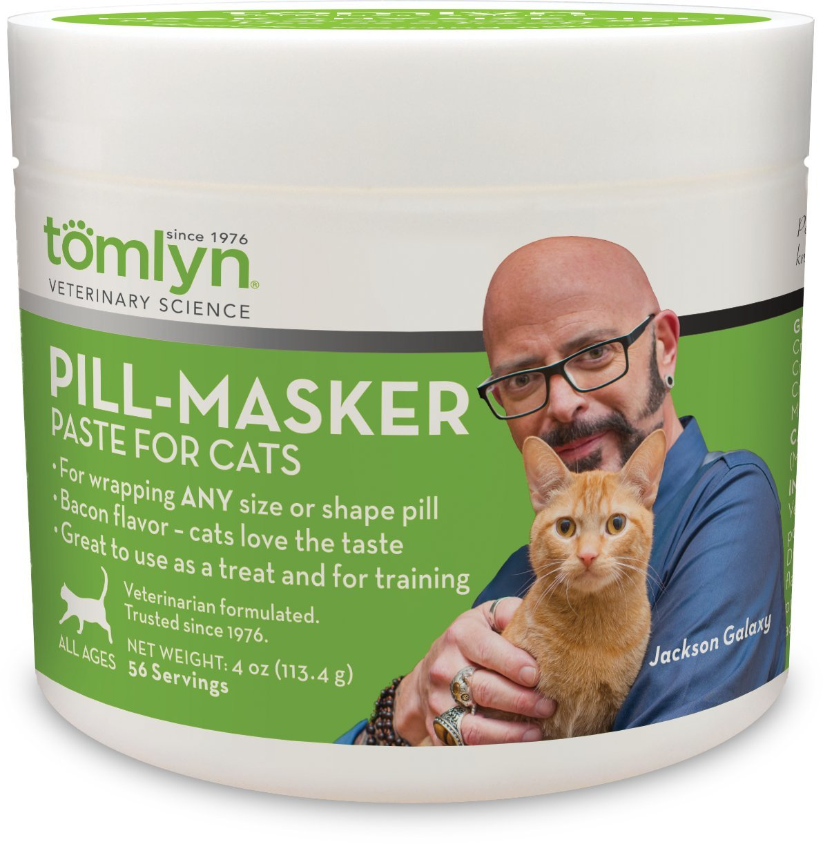 Tomlyn Pill-Masker Bacon-Flavored Paste for Cats, 4oz