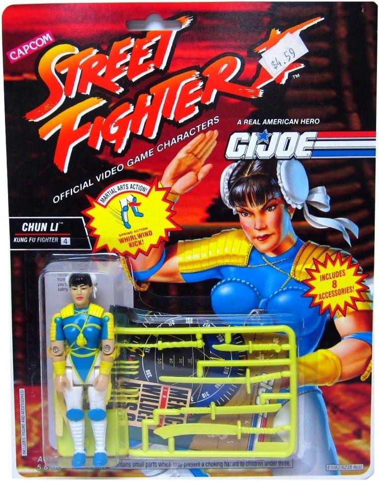 Street fighter action force figures gi joe Ken Sagat E Honda Blanka Chun Li Ryu