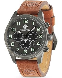 Timberland Reloj Cronógrafo para Hombre de Cuarzo con Correa en ... 03346b3296d2