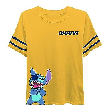 Disney - Camiseta de Manga Corta para Mujer, diseño de Lilo y ...