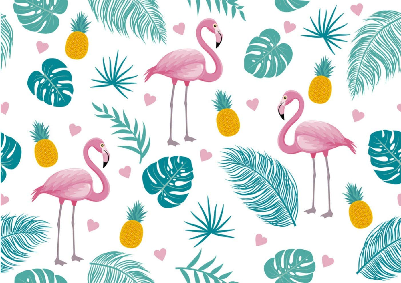 Embroidery Cute Tropical Flamingo with Slogan Vector Illustration for Fashion Apparels Unisex Fleece Neck Warmer Face Warmer Neck Tube Neck Scarf Neck Gaiters 9.8x11.8 inch