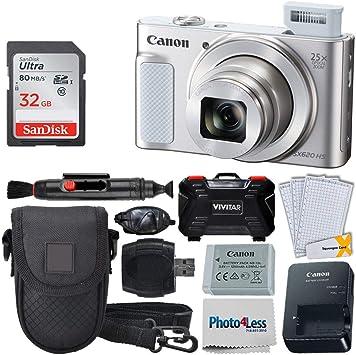 Amazon.com: Canon PowerShot SX620 HS - Funda para cámara de ...