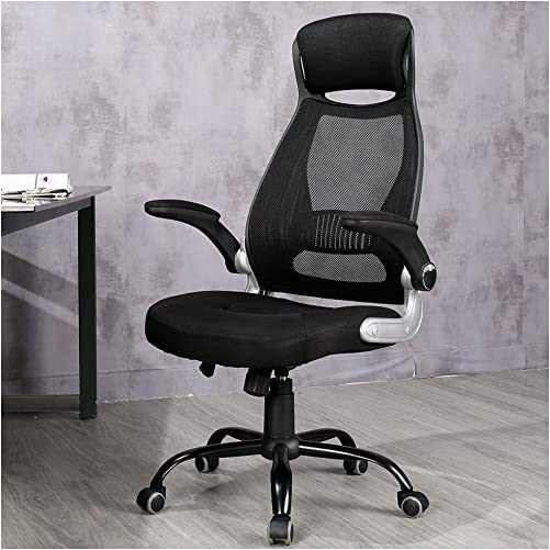 Veigar Ergonomic High Back Mesh Office Chair with Adjustable Armrest Computer Chair Desk Chair Task Chair Swivel Chair Black