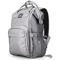 BabyX Diaper Bag Backpack Multifunction Maternity Travel Nappy Bags -Grey