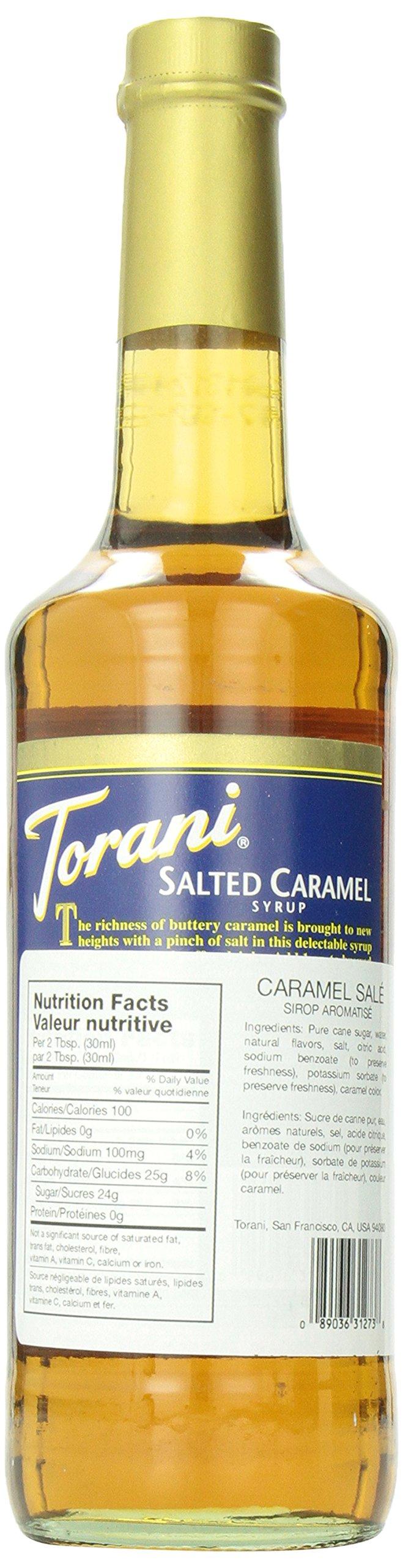 Torani Salted Caramel Syrup, 25.4 oz