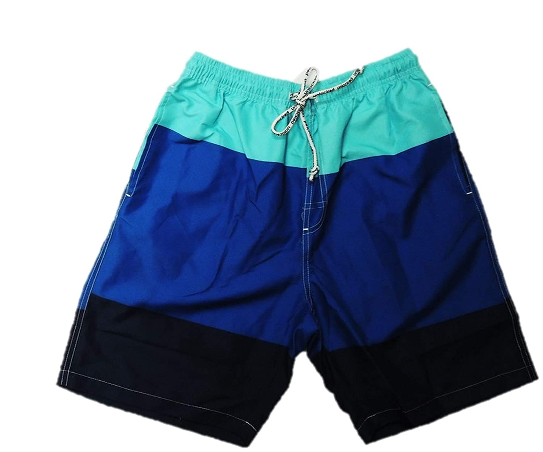 Jungen Badehose Badeshorts Shorts kurze Hose Größe 158 164 170 176 182 188 blau