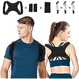 Corrector de Postura, Corrector Postura Espalda Faja para Hombre y Mujer Hombro Clavícula Espalda Recta Soporte…