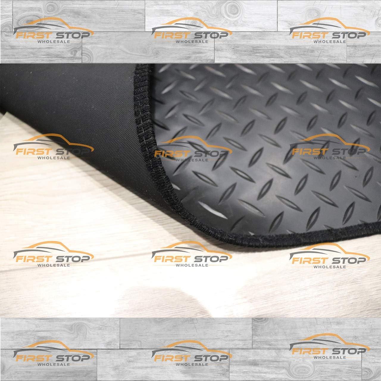 FSW Man-Erf Tgx 2012-On 3 Piece Set Tailored 3MM Waterproof Rubber Heavy Duty Floor Mats