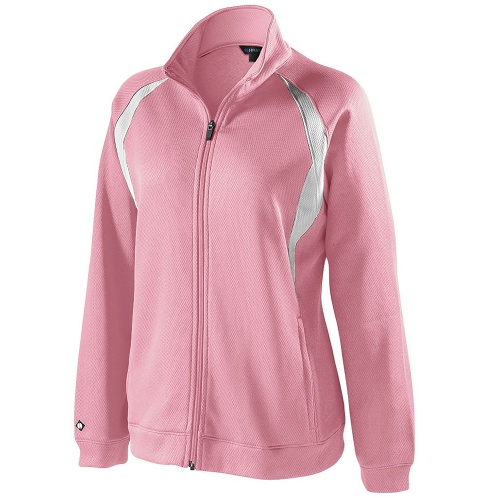 Holloway Dry Excel Ladies Agility (X-Small, Pink/White)