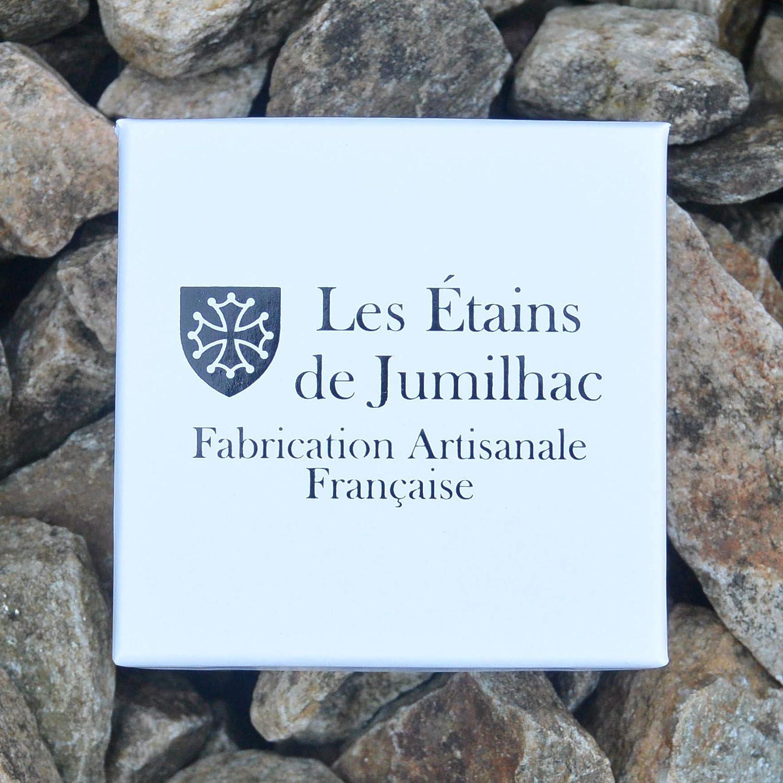 Fait Main Porte-Cl/és Croix de Camargue Fabrication Artisanale Fran/çaise Porte-Cl/és Croix Camarguaise par William Sturt des /Étains de Jumilhac en /Étain
