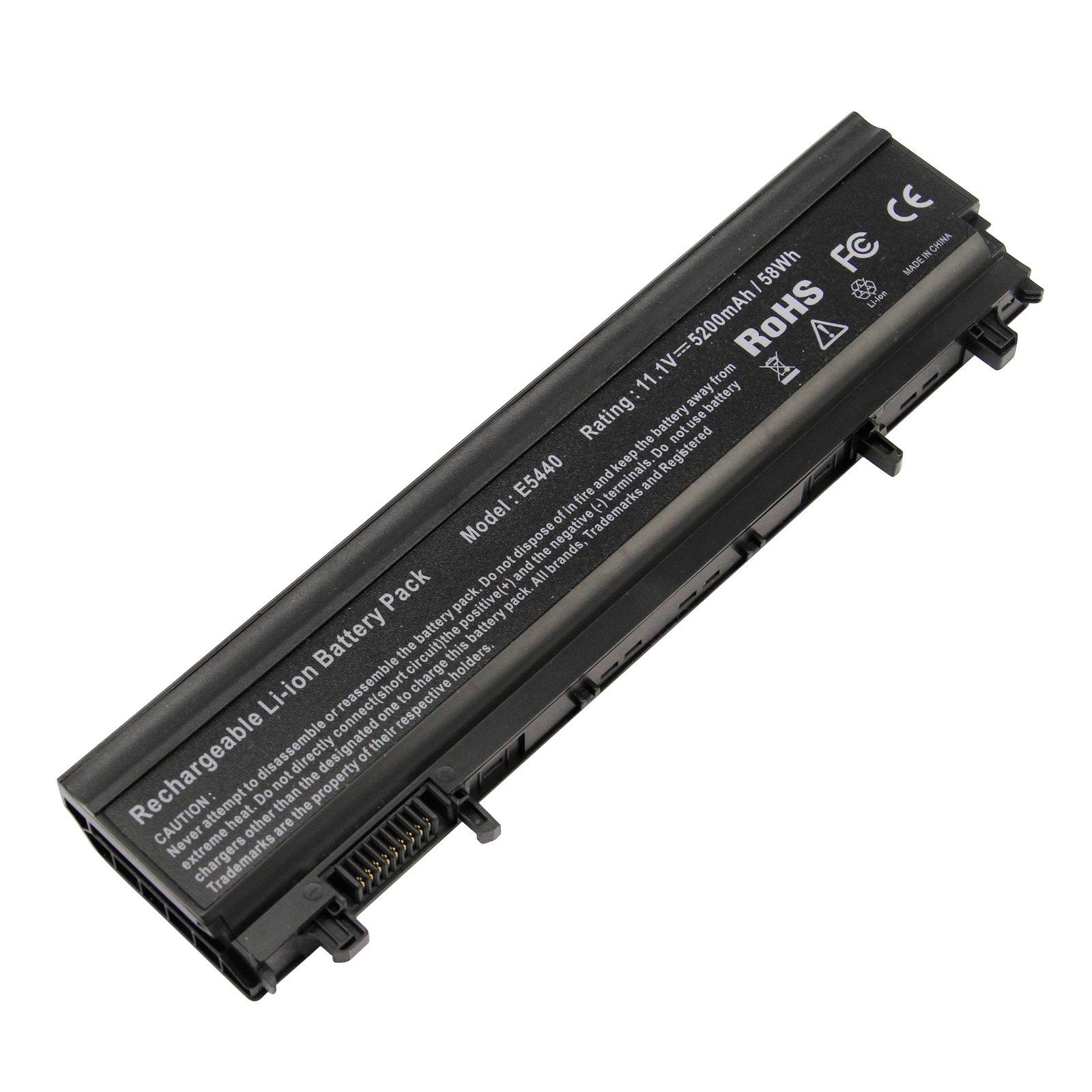 Bateria 5200mAh 11.1V para Dell Latitude E5440 E5540 Series para N5YH9 WGCW6 1N9C0 F49WX 0M7T5F