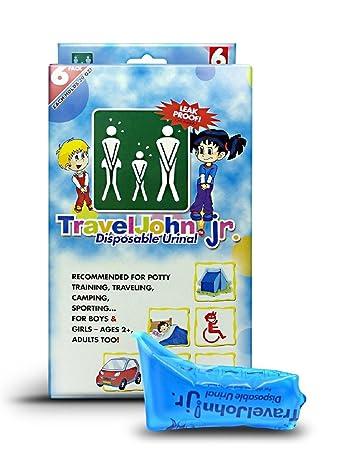 Amazon.com: TravelJohn Jr.-disposable urinario bolsas ...