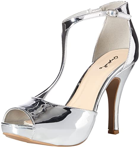 022a69b9509 Qupid Women s Platform Sandal Heeled  Buy Online at Low Prices in India -  Amazon.in