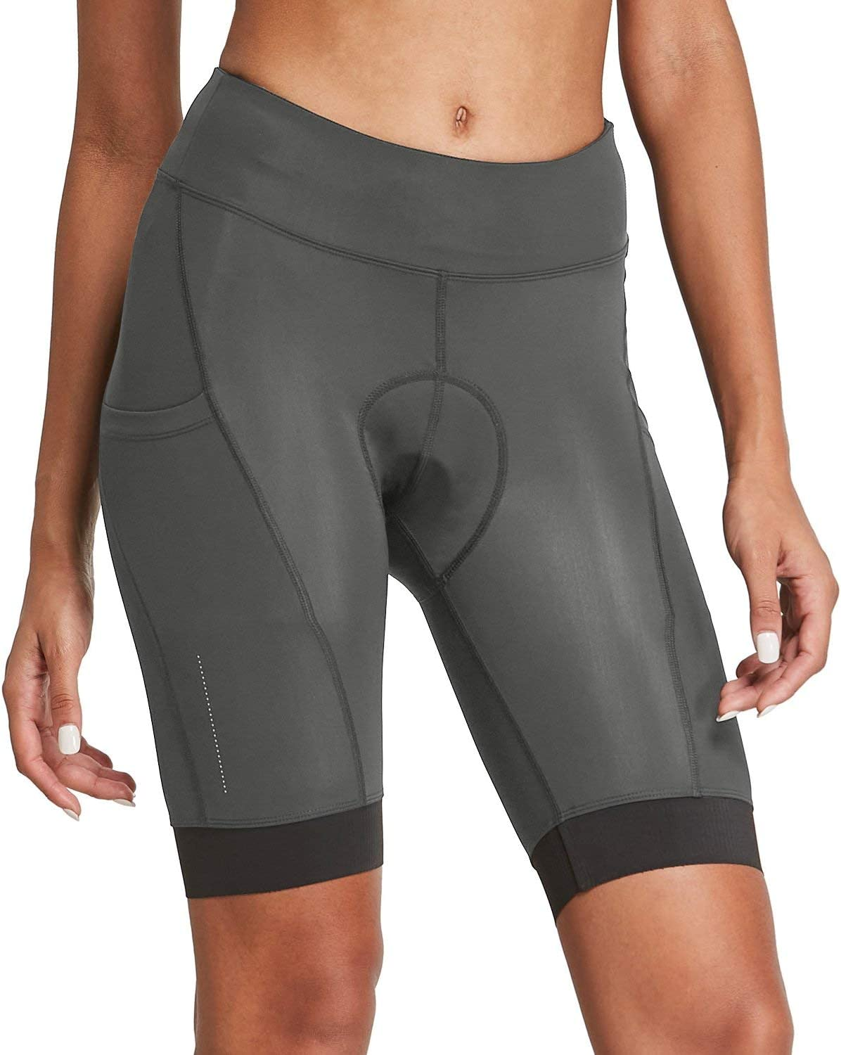 Willit Womens Bike Shorts 3D Padded Cycling Bicycle Shorts Pockets Quick Dry Lightweight Pockets 8