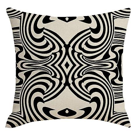 Cocoty-store 2019 Funda de Almohada de Lino de algodón,sofá ...
