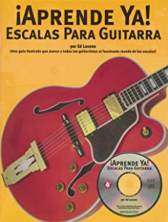 A TOCAR ESCALAS PARA GUITARRA BOOK/CD