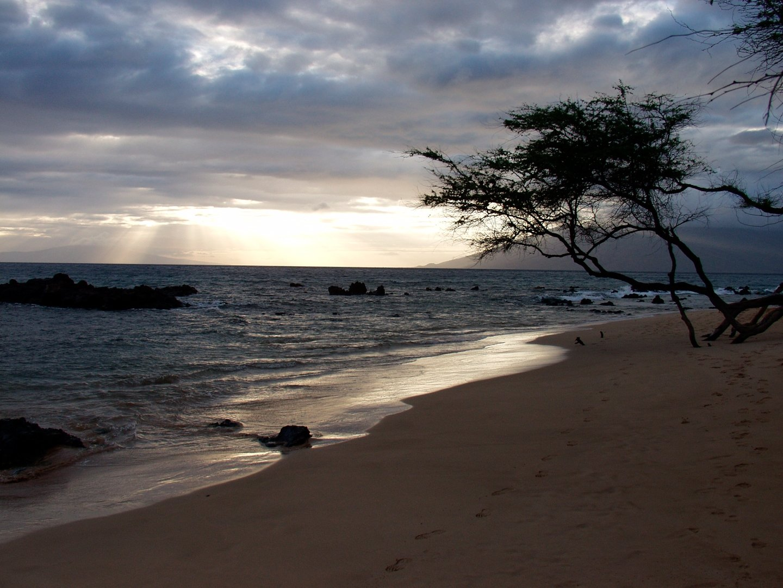 Maui Beach Sunset Fine Art Photo Hawaii by