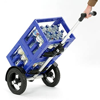 Einkaufstrolley für Getränkekisten
