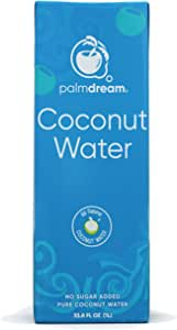 Palmdream Coconut Water - 100% Natural - No Sugar Added -1 Liter (Pack of 1)