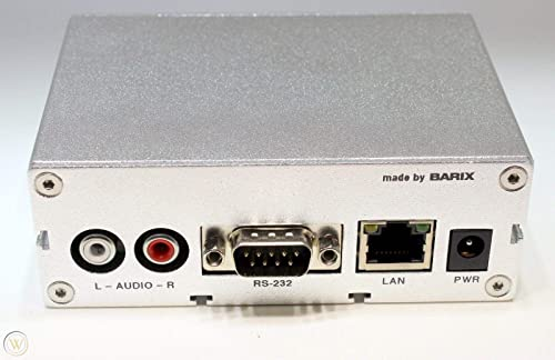 Barix Exstreamer 100 IP Audio Stream Decoder-by-Barix