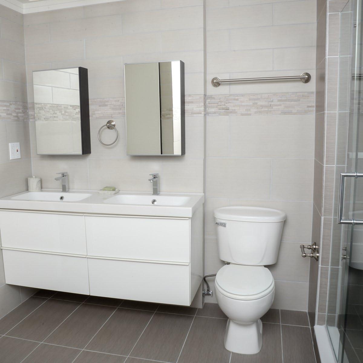 Bronze huil/é Basics Lot de 3/accessoires de salle de bain Moderne