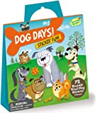 Peaceable Kingdom Sticker Fun Dog Days Reusable Sticker Tote
