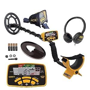 Garrett Metal Detectors Ace 300 Metal Detector, GAR1141150