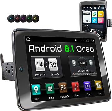 XOMAX XM-VA1090 Radio de Coche con Android 8.1 I Quad Core, 2GB ...