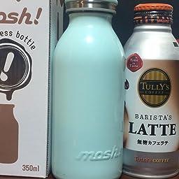 Amazon Co Jp 水筒 真空断熱 スクリュー式 マグ ボトル 0 45l ターコイズ Mosh モッシュ Dmmb450tu ホーム キッチン