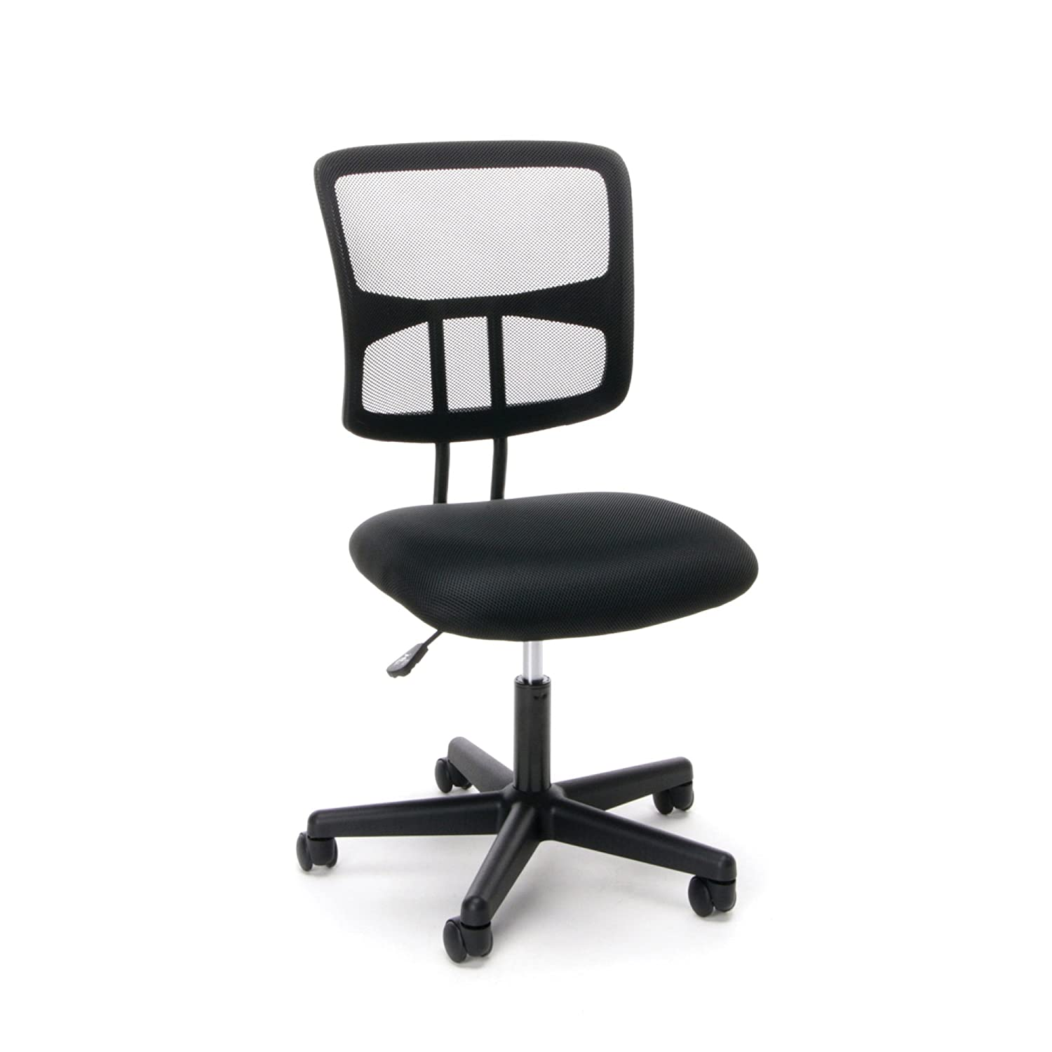 Essentials Swivel Armless Mid Back Mesh Task Chair - Ergonomic Computer/Office Chair (ESS-3020) OFM