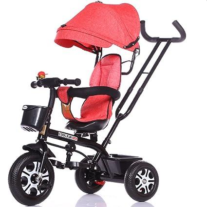 Great Triciclo para niños Bicicleta 1-3-5 Cochecito de bebé ...