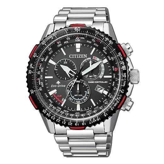 Citizen Radio Controlled CB5001-57E Reloj radiocontrolado para hombres: Amazon.es: Relojes