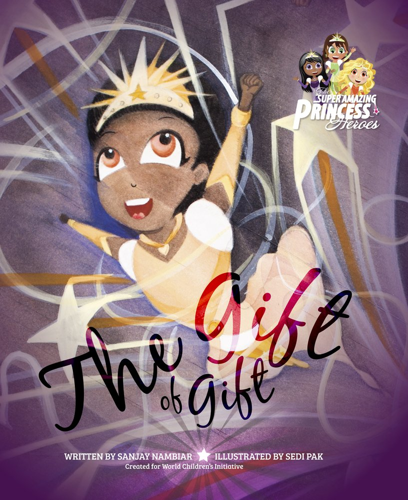 Download The Gift of Gift (Super Amazing Princess Heroes) PDF