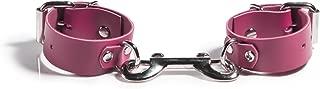 product image for Liberator Rani Leather Wrist Cuffs Handmade Playful Bondage Restraints, Pink, 0.6 Pound
