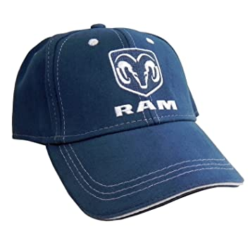 Image Unavailable. Image not available for. Color  Dodge RAM Logo Blue  Baseball Hat ... 4310db465158