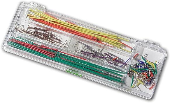 65x Steckbrücken Set Drahtbrücken Breadboard Steckplatine Jumper Wire Raspber