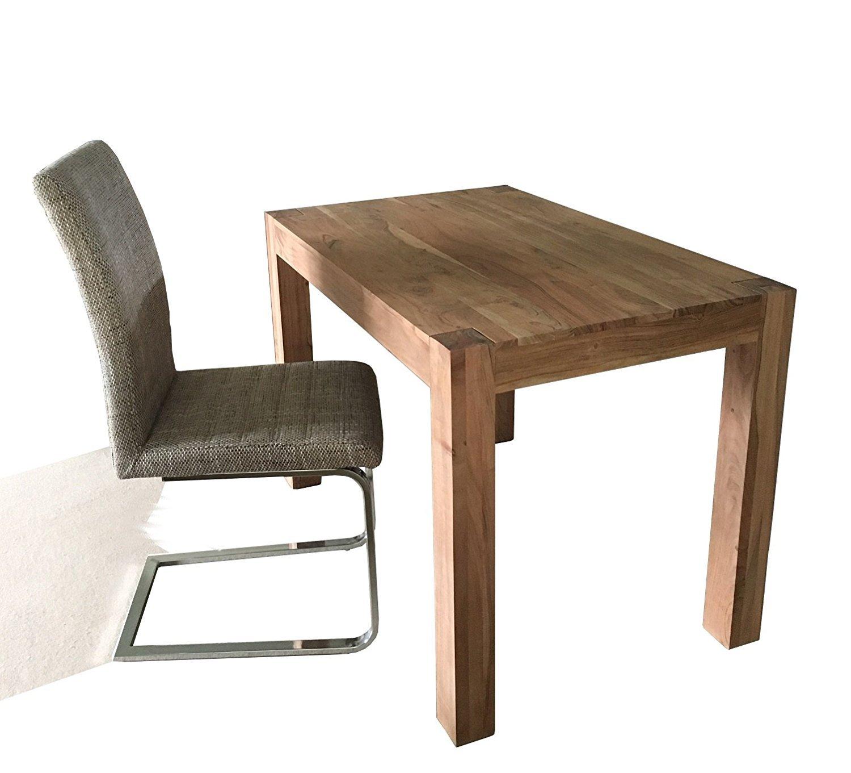 Dewas Beistelltisch 110x70 cm Kaffeetisch / Holztisch Akazienholz ...