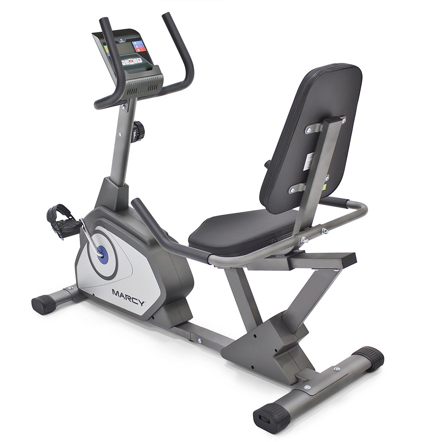 Marcy Magnetic Recumbent Exercise Bike with 8 Resistance Levels NS-40502R by Marcy (Image #3)