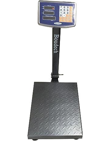 Boudech - BILANCIATCS300K - Báscula digital con capacidad máxima de hasta 300 kg con plataforma electrónica