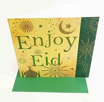 Happy eid mubarak card muslim islamic enjoy eid greeting cards happy eid mubarak card muslim islamic enjoy eid greeting cards m4hsunfo