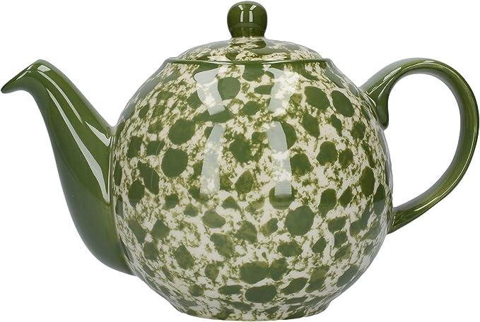 dise/ño de globo terr/áqueo London Pottery C001014 Tetera con colador
