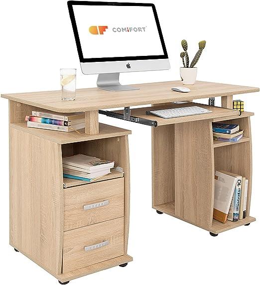 COMIFORT T05S - Mesa de Ordenador, Escritorio, Mesa de Oficina ...