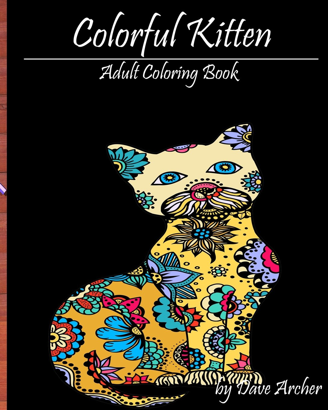 Read Online Colorful Kitten: A Blue Dream Coloring Book for Adult Relaxation pdf
