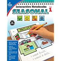 Interactive Notebooks Seasonal, Grade 1