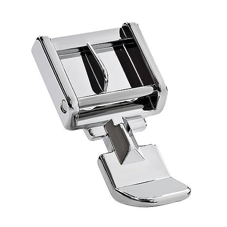 Cremallera prensatelas para máquina de coser – se adapta a todos los baja vástago snap-