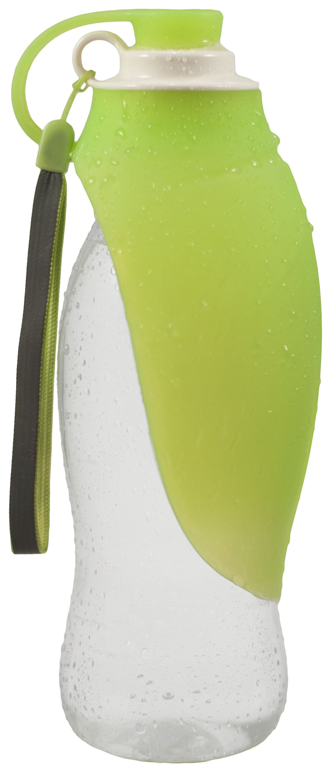 Ravensy Portable Dog Water Dispenser - 20oz Pet Water Bottle with Foldable Cap for Travel, Hiking, Walking, Jogging