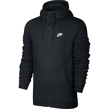the best attitude 363af 02738 Nike Men s s Sportswear Club Full Zip Hoodie  Amazon.co.uk  Sports    Outdoors