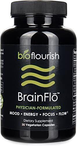Nootropic Energy and Focus Brain Supplement Non GMO Natural Cognitive Enhancement Pill
